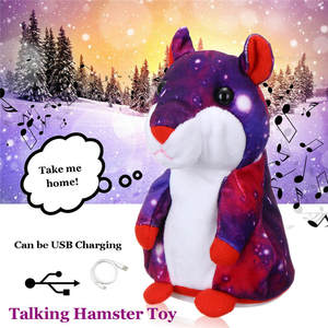 Talking Hamster Toy USB Charge