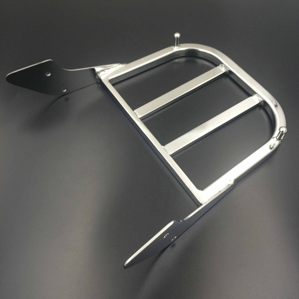 Motorcycle Chrome Sissy Bar Luggage Rack For Honda ACE 750 Spirit 750 Aeri 1100 VLX 600 Magna ACE 1100 ACE Sabre ACE Tourer