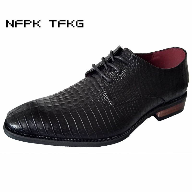new arrival men casual business wedding formal dress genuine leather shoes pointed toe lace up derby shoe gentleman zapatos male new fashion men business office formal dress solid genuine leather shoes lace up pointed toe flats oxfords shoe spring autumn