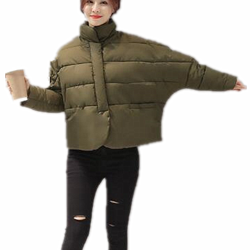 ForeMode Women Winter Parkas Female Loose Warm Cotton 217 New Coat Short Jacket factory outlets 2014 new winter in europe and america women british style stitching cotton quilted jacket short parkas coat