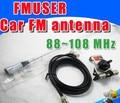 FMUSER CA-100 Автомобильный FM-АНТЕННА для fm-передатчик радио транслятор 0-100 Вт с высоким коэффициентом усиления 88-108 МГц регулируемая