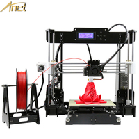 Anet A8 Big Size 220 220 240mm Precision Reprap Prusa I3 DIY3D Printer Kit 10M Filament