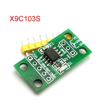 X9C103S Digital Potentiometer Board Module DC3V-5V For Uno