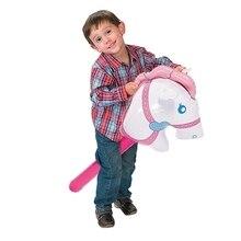 10 шт./компл. розовая надувная палка для верховой езды, игрушки для животных, для детей, для верховой езды, игры для активного отдыха, вечерние игрушки