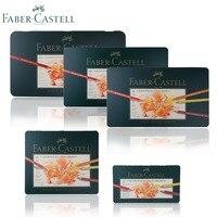 Lapices De Faber Castell Colour Pencil Polychromos Tin of 12 24 36 60 120 Finest Artists Quality Oil Colored Pastille Pencils