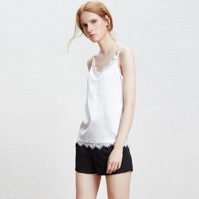 sexy en mousseline de soie blanc dentelle crop top 2017 femmes d 39 t tops r servoir haut femme. Black Bedroom Furniture Sets. Home Design Ideas