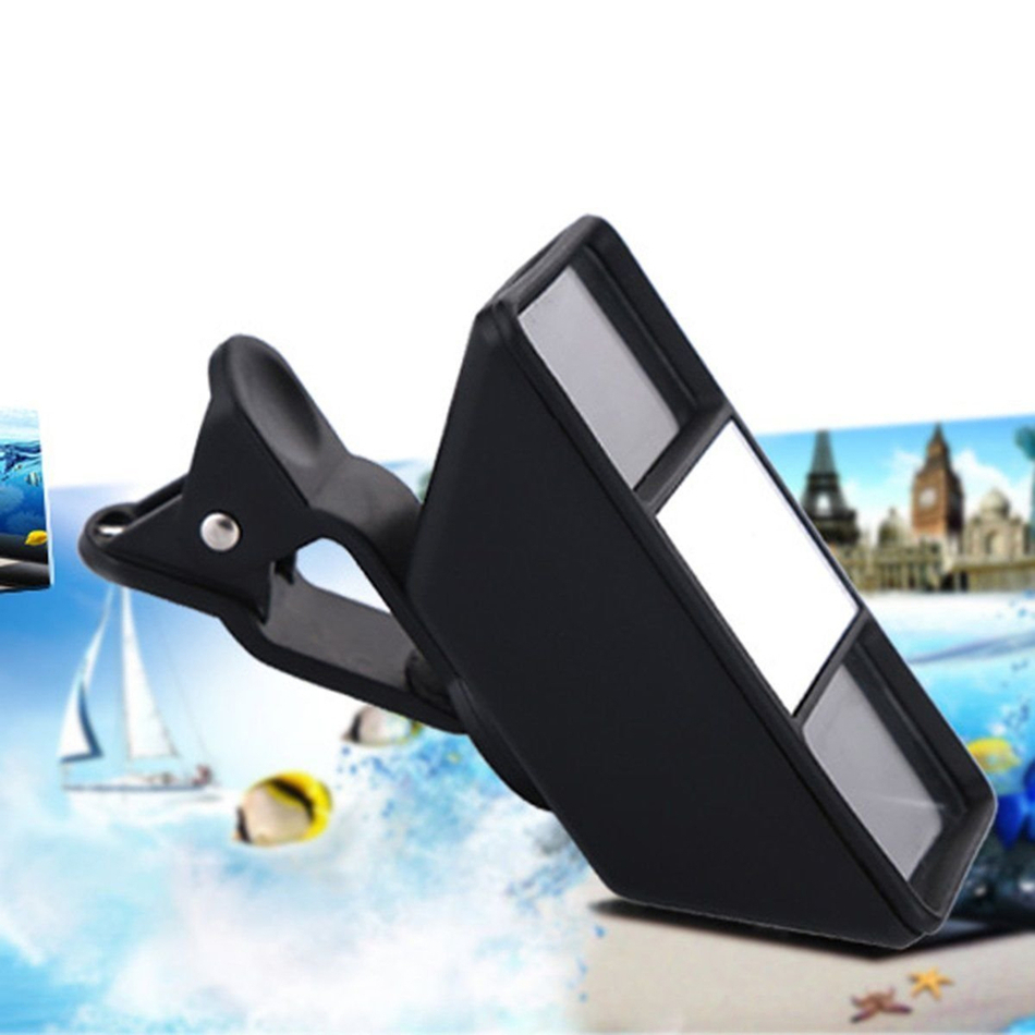Universal Lents Mini 3D Photograph Stereo Vision Camera Lens Kit For Samsung Galaxy S3 S4 S5 S6 S7 edge S8 Plus Phone Lenses