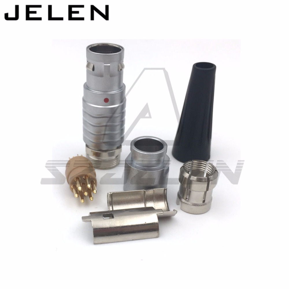 цены SZJELEN connector 7 pin plug FGG.2B.307.CLAD**Z , 2B connector plug 7 pin, instruments dedicated connector plugs