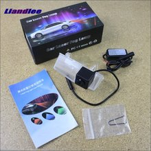 цена на Liandlee Laser Anti Lamp Fog Light For Toyota RAV4 RAV 4 2013~2015 Outside The Car Warning Alert Light To Shoot The Chandeliers