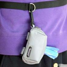 Waste Dog Pet Poo Puppy Pick-Up Bags Pet Poop Bag Holder Hook Pouch Portable