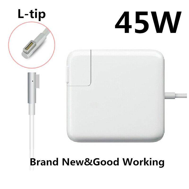 Hot! Replacement 45W MagSafe Laptop Power Charger Adapter (L-tip) For Apple MacBook Air 11'' 13'' A1270/A1369/A1370/A1374. блок питания apple 85w magsafe power adapter for macbook air mc556z