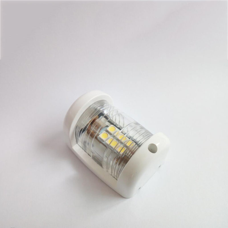 Image 2 - 12V Marine Boat Yacht LED Navigation Light White Masthead Light Bow Sailing Signal Lamp-in Marine Hardware from Automobiles & Motorcycles