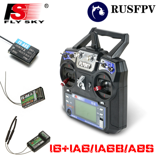 Flysky FS-i6 FS I6 2.4G 6CH Transmitter Mode 2 Left Throttle With FS-iA6/FS-iA6B/FS-A8S For Helicopter Airplane FPV Racing Drone