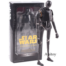 SHF S.H.Figuarts Star Wars Figure Star Wars Action Figure Rogue One Toys K-2SO PVC Action Figures Collectible Model Black Series
