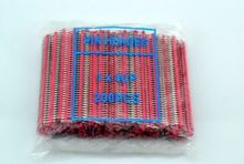 200pc RED 40pin 2.54mm Single Row Breakaway Male Pin Header for uno R3 Raspberry Pi B B+ pi2 3