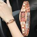 Женские кварцевые часы из вольфрамовой стали  ремешок Altra-thin  водонепроницаемые женские наручные часы LL @ 17