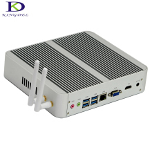 New arrival 7th Gen i5 7200U CPU Fanless Mini PC i5 KABY LAKE Nettop HTPC 16GB