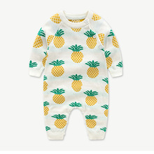 babycotton knitted jumpsuit for boys girls cute cotton