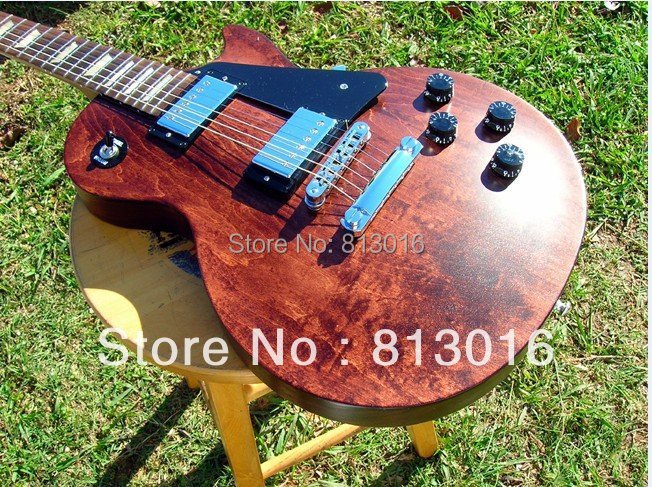 best guitar Studio Faded Worn Brown Baked Maple Fret Board Burstbuckers electric guitar, Free shipping платье fleur de vie
