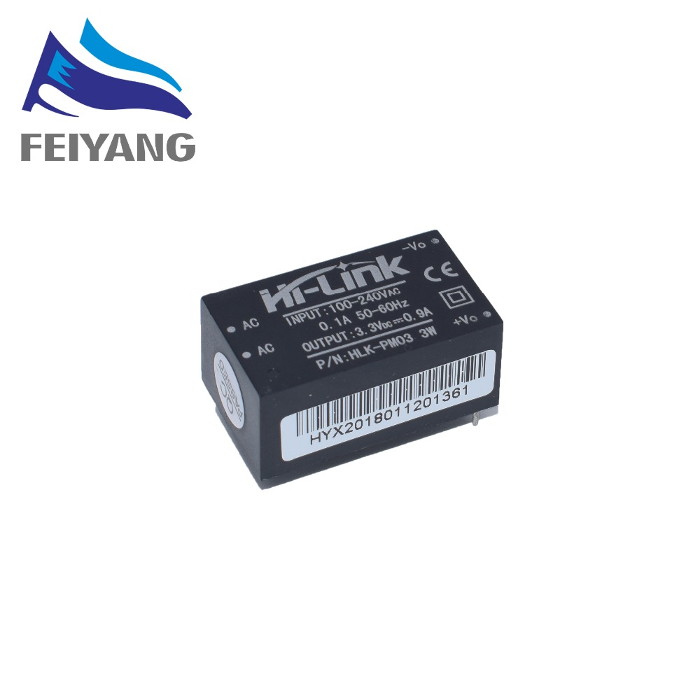 Image 3 - 1PCS HLK PM01 HLK PM03 HLK PM12 AC DC 220V to 5V 3.3V 12V Power Module AC to DC Isolated Power Module UL/CE Household Switch-in Integrated Circuits from Electronic Components & Supplies