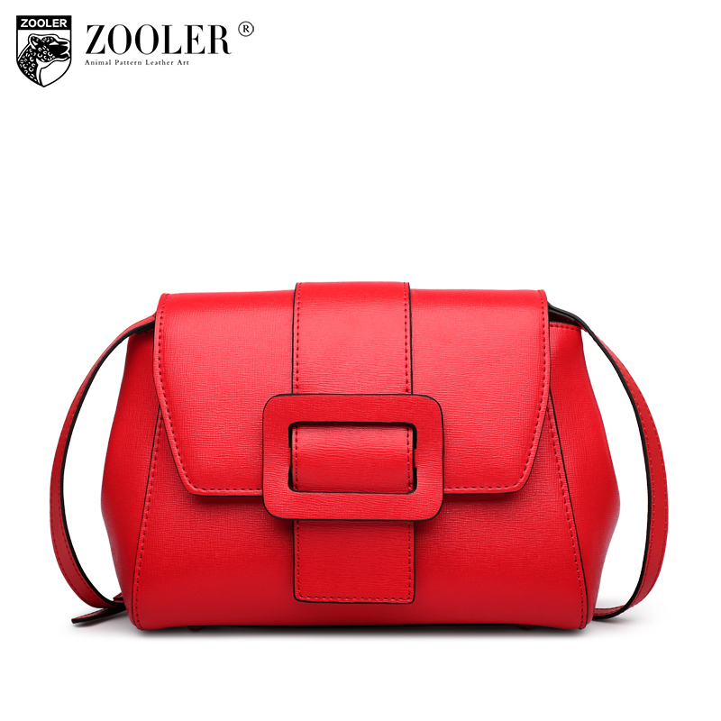 ZOOLER genuine leather bag Bags handbags women famous brand women messenger bag lady cross body elegant bolsa feminina #B116