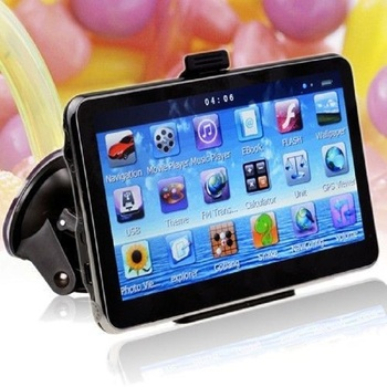 """KMDRIVE 4GB Dual-Core 4.3"""" Touch Screen GPS Navigation with Maps"""