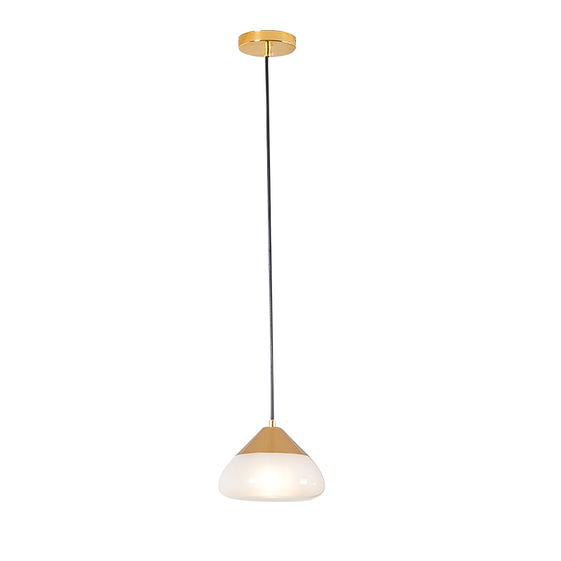 2018 New arrival Suspension Luminaire dining room pendant lights Dia.28cm single head gold rose gold silver parlor LED droplight
