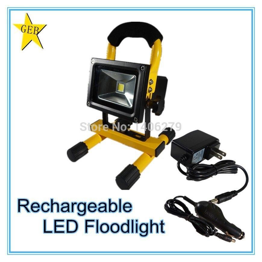 10w Floodlight LEDPortable Spotlights LED Rechargeable Spotlights LED Outdoor Emergency LED Spotlights LED Integrated Spotlights