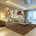 (no frames) bilder canvas wall pictures living room oil modular triptych painting on china art cheap modern paintings picture
