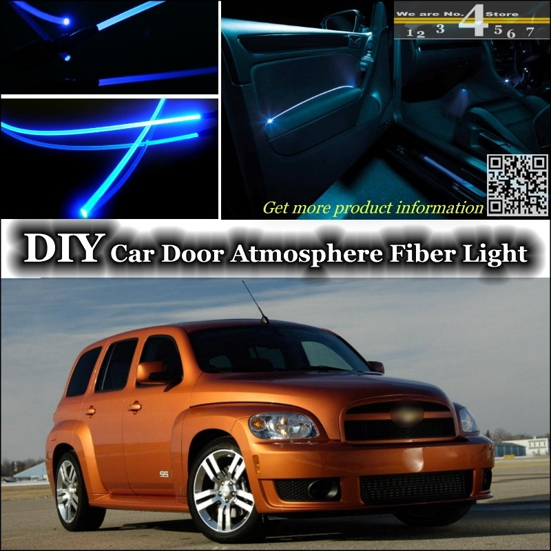 Interior Ambient Light Tuning Atmosphere Fiber Optic Band Lights
