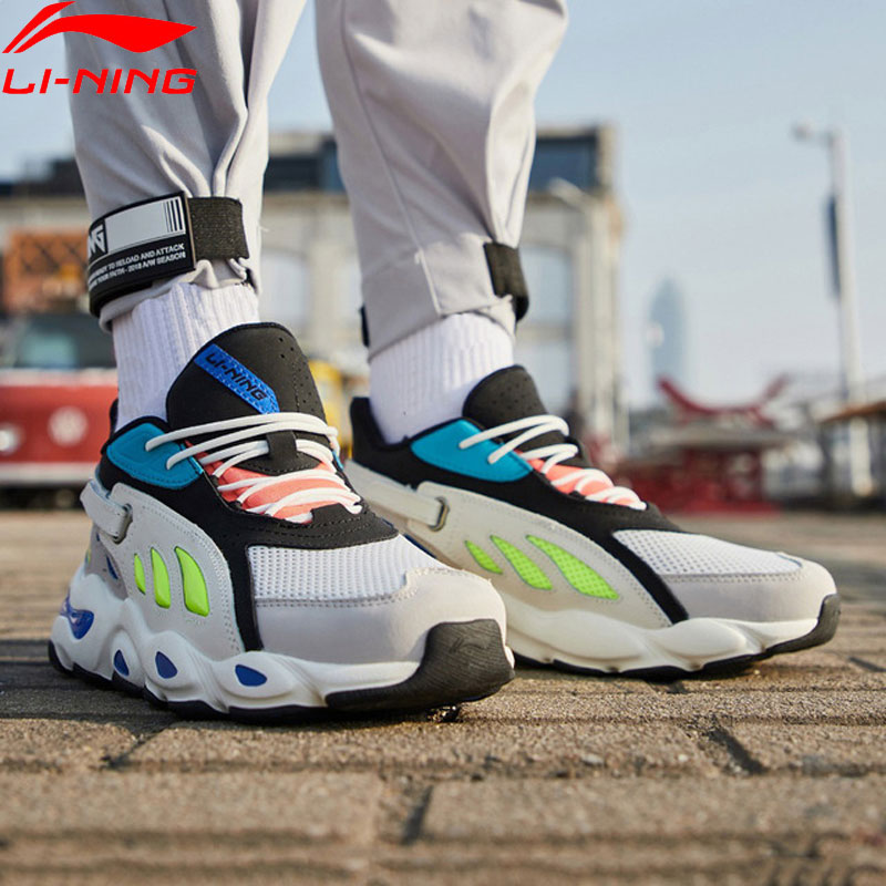 Li-Ning Men Butterfly 2018 Lifestyle Shoes Dad Shoes Wearable Sneakers LiNing li ning Sport Shoes AGLP035 YXB238