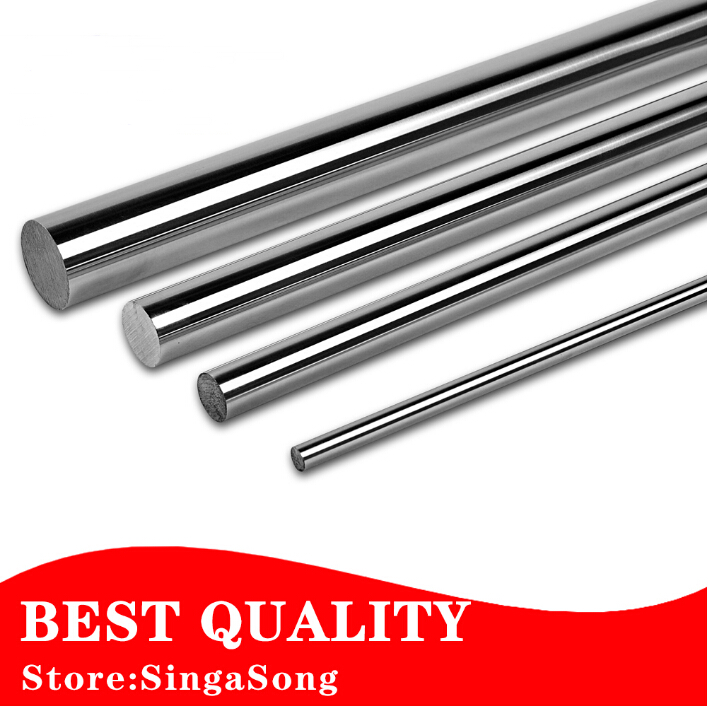 1pcs 6mm and 8mm 6x100 6x200 8x100 8x200 linear shaft 3d printer 8mm x 200mm Cylinder Liner Rail Linear Shaft axis cnc parts 1pc 8mm 8x100 linear shaft 3d printer 8mm x 100mm cylinder liner rail linear shaft axis cnc parts