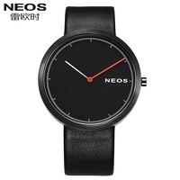 NEOS Ultra thin Watch Men 's Waterproof Quartz Watch Fashion Trend Simple Male Watch Leisure Watch