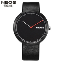 NEOS Ultra – thin Watch Men 's Waterproof Quartz Watch Fashion Trend Simple Male Watch Leisure Watch