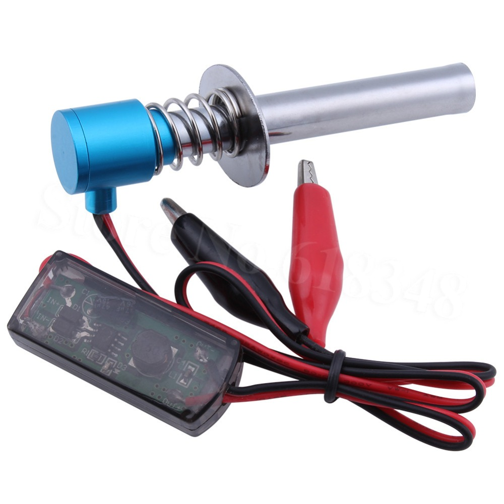 6 12v Listrik Glow Plug Igniter Starter Upgrade Elektronik Untuk Rc 1 10 1 8 Mobil Nitro Truk Rakasa Buaya Klip Hsp Himoto Plug And Play Graphics Card Plug Adapterigniter Ignitor Aliexpress