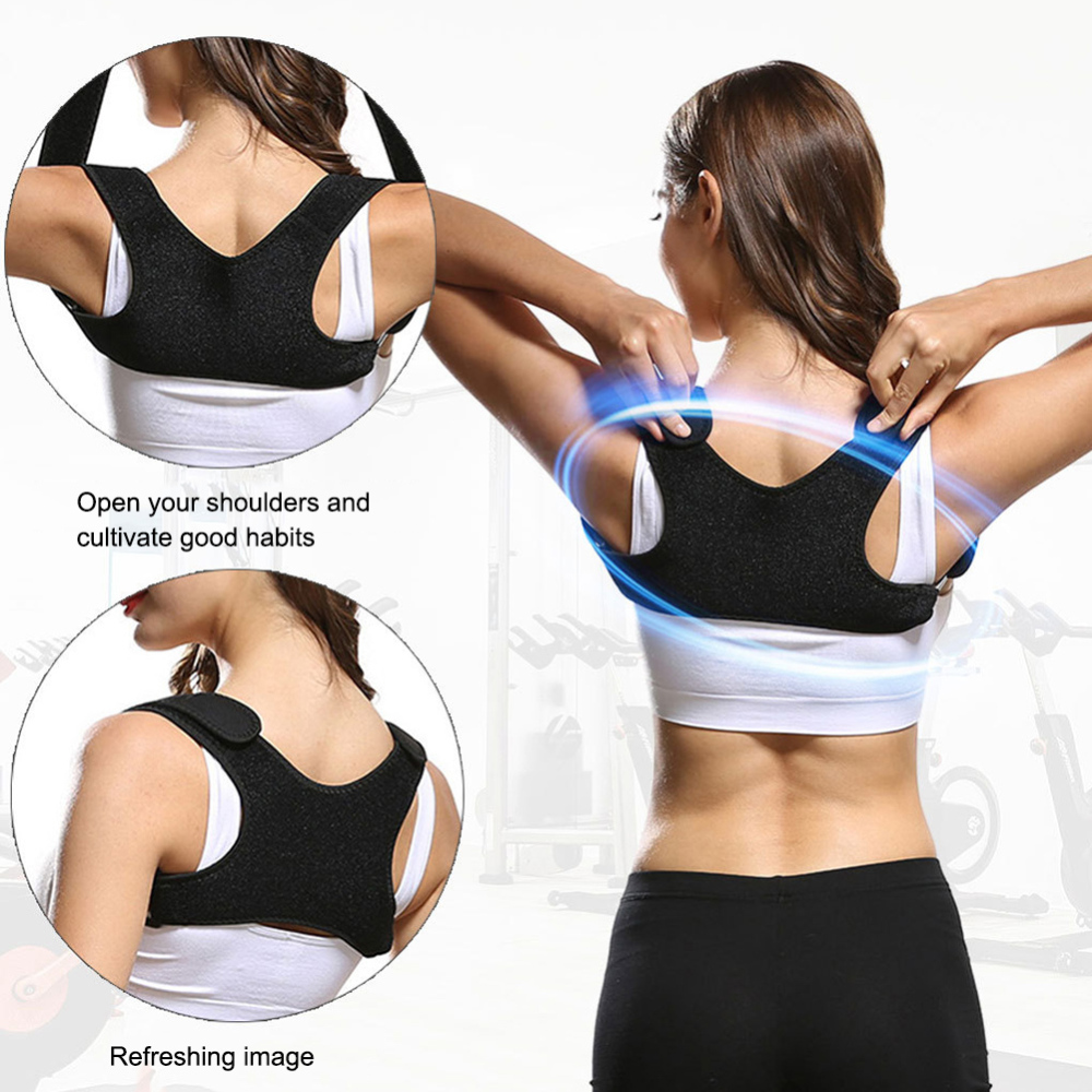 New Adjustable Posture Corrector Back Brace Back Straightener Posture Fixer Beauty Shape Tools Support Brace Orthopedic Vest