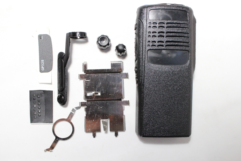 Generic two way radio Case Cover Holster Kit Compatible With Motorola GP328 walkie <font><b>talkie</b></font>