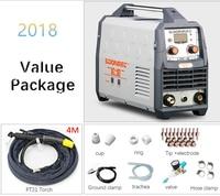 2019 New Plasma Cutting Machine LGK40 CUT50 220V voltage Plasma Cutter With PT31 Free Welding Accessories quality