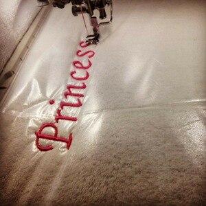 Image 4 - Simthread 90um Толстая холодная Водорастворимая пленка для вышивания верхушка для поддержки ткань стабилизатор для вышивки 30 см x 10 ярдов