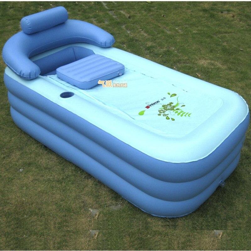 Adult SPA bathtub folding tub inflatable bath tub portable bathtub ...