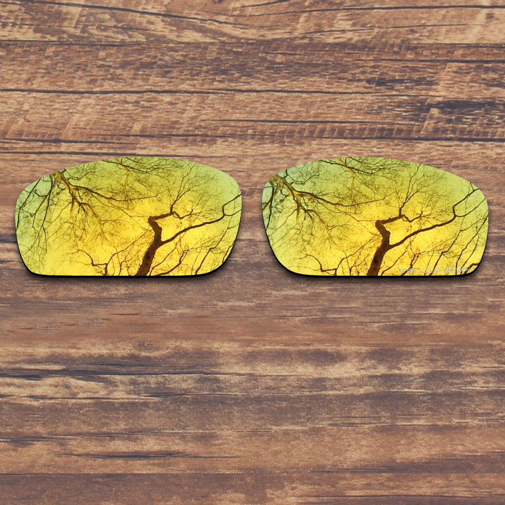 225303be0a ToughAsNails Resist Seawater Corrosion Polarized Replacement Lenses for  Oakley Monster Pup Sunglasses Gold Mirrored (Lens Only)-in Accessories from  Apparel ...