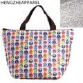 canvas tinfoil cartoon bear floral cherry lunch bag thermal food keeper bag fridge neoprene lunch box waterproof picnic bag