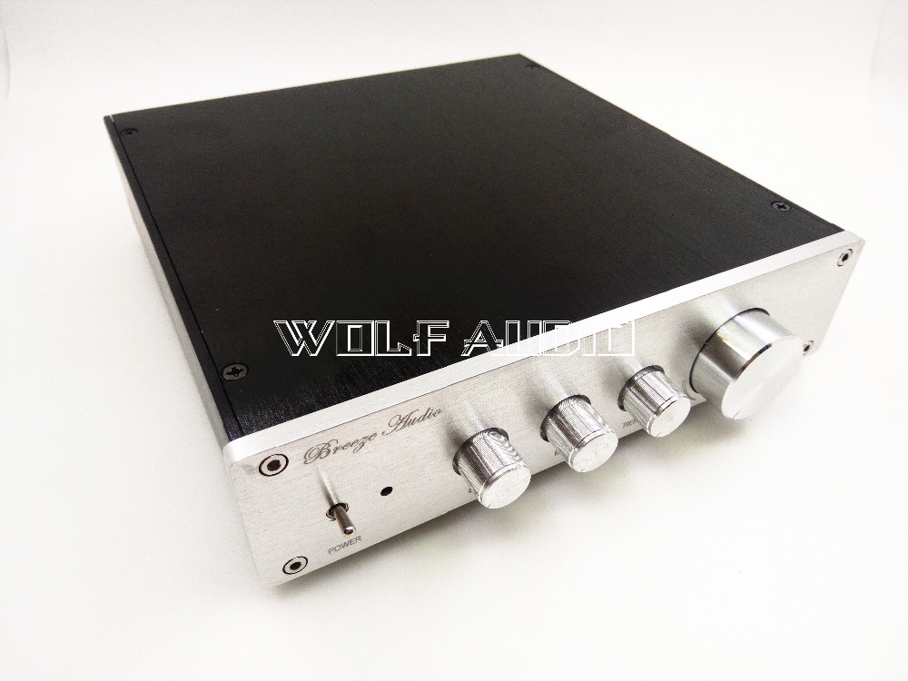Finished  F1  Class A preamp-amplifier  tone power Treble / midrange / bass adjustment  with Gold seal op amp LME4972HA amp 2 0 10w bass treble adjustable digital amplifier module deep blue