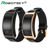 Blood Pressure Watches Fitness Bracelet Smart Band Activity Health Tracker Smartband Bluetooth Wristband For IOS Android
