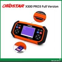 מתכנת מפתח אוניברסלי x30 pro3 מפתח מאסטר עדכון חינם באינטרנט obdstar x300 pro3 תצורת חבילה מלאה מכונת