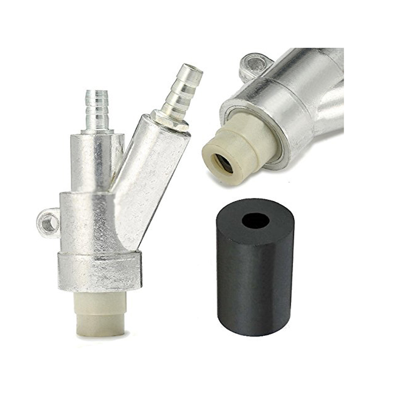 B type Sandblaster air SandBlasting gun Kit and 35*20*8mm boron carbide  SandBlasting nozzle for Sandblast Cabinet