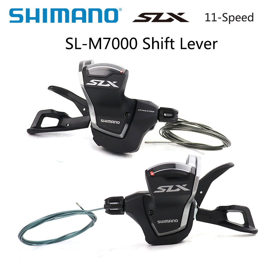 <font><b>SHIMANO</b></font> <font><b>SLX</b></font> SL <font><b>M7000</b></font> 11s Shifting Lever MTB BIKE Rapidfire Plus Shifting Lever 2x11 speed <font><b>M7000</b></font> Derailleurs Mountain bike parts image