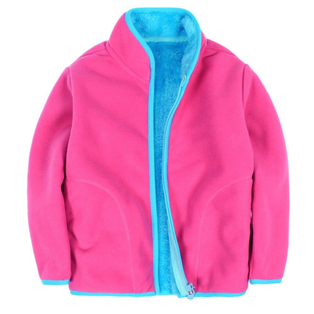 Polar Service Center >> New 2018 children polar fleece cardigan sweatshirt children hoodies kids jacket&Coats baby boys ...