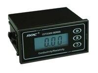 Бренд ROC промышленный онлайн проводимость TDS передатчик для мониторинга температуры тестер метр анализатор DC24V Мощность SPDT релейный выход