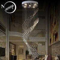 Royal crystal loft vintage chandelier Europe style with GU10 5 lights for living room bedroom hotel lobby restaurant corridor|Chandeliers| |  -